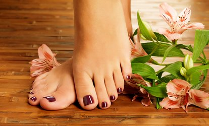 image for  One-Hour Pedicure or One-Hour Spa Pedicure at Salon Advantages (Up to 44% Off)