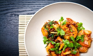 Bambooda-Roda Al Bustan: Lunch with Soft Drinks, House Beverage and Pool Access for Up to Eight at Bambooda by Roda Al Bustan (Up to 73% Off)
