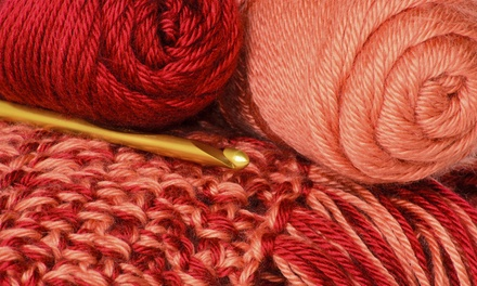 2 Beginner Crochet or Knitting Classes or Intermediate Knitting for 1 or 2 at Alpaca Direct (Up to 54% Off)