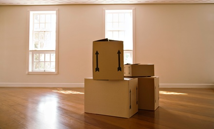 Two Hours of Moving Services with Two or Three Movers and Supplies from United States Van Lines (Up to 53% Off)