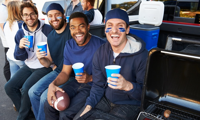 VIPTIXONLINE - Multiple Locations: Detroit Lions Tailgate Party with Optional Game from Viptixonline (October 9–January 1)