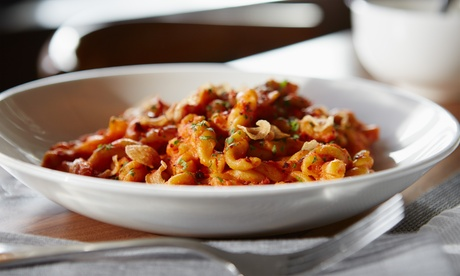 $20 for Two vouchers, Each Good for $20 Worth of Italian Dinner Cuisine at Café Pasta + Grille ($40 Total Value)