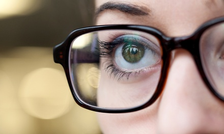 Basic Eye Exam with Prescription, Contact Lens, or Contact Lens with Astigmatism Eye Exam (Up to 52% Off)