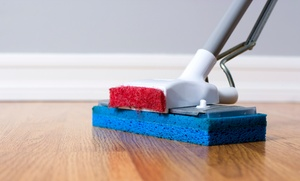 Maid-to-go: Two- or Three-Hour Housecleaning Session for Two Rooms, Kitchen, and Bathroom from Maid-To-Go (Up to 47% Off)