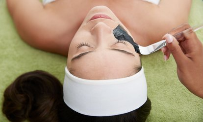 image for Custom Facial or Facial with Dermaplaning or Collagen/Brightening Mask at Skin By Kari Lynn (Up to 70% Off)