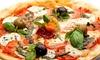 Menu pizza con aperitivo e fritti