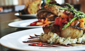 R.E.D. Stripe Cafe and Lounge: $22 for $40 Worth of Caribbean Dinner Cuisine for Two at R.E.D. Stripe Cafe and Lounge
