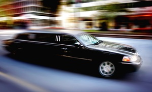 Peralta's Elite Limousine: One-Way Airport Transportation to LaGuardia or JFK from Peralta's Elite Limousine (Up to 53% Off)