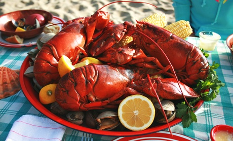 Lobster Bake for 10 or 20 or Pig Roast for 20 from Bentley's Famous BBQ Pig Roast & Lobstah Bakes (Up to 58%Off) a2c41636-e930-4604-8fdd-067cfa8382ee