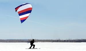 Jump Kite: Corso di SnowKite vari livelli da Jump Kite (sconto fino a 64%). Valido in 4 sedi