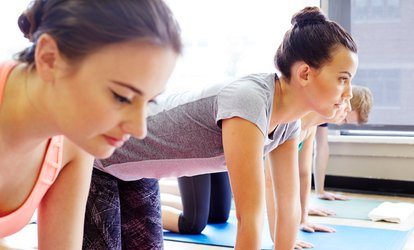 image for 10 or 20 Yoga or Fitness Classes at The Ballroom (Up to 66% Off)