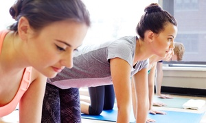 Mystic Pointe Yoga: 5 or 10 Yoga, Zumba and Boot Camp Classes at Mystic Pointe Yoga (Up to 76% Off)