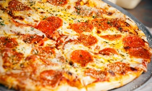 Frank's Pizza of Cedar Knolls: $15 Off Pizzeria Food for Dine-In Only at Frank's Pizza of Cedar Knolls ($25 Value)