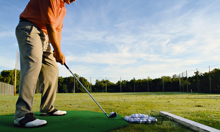 Longwoods Golf Centre - Mt. Brydges: 5 or 10 Jumbo Buckets of Golf Balls at Longwoods Golf Centre (Up to 53% Off)