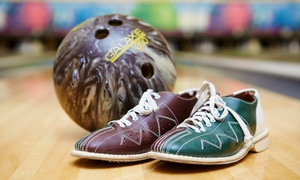 Ward Parkway Lanes: Classic Bowling or Rock N' Bowl Bowling with Pizza for Up to Six at Ward Parkway Lanes (Up to 54% Off)