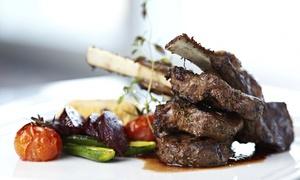 Restaurant Le divan: Salade de bienvenue, plat et dessert pour 2 ou 4 personnes à 23,99 € au Restaurant Le divan