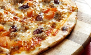 Barone Pronto Pizza: Pizza at Barone Pronto Pizza (Up to 48% Off). Three Options Available.