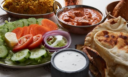 £40 Toward Indian Food and Drinks for Two or More People at Sultan's Palace (50% Off)
