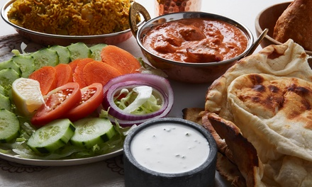 Two-Course Indian Meal for Two or Four at Aby's Indian Experience (Up to 69% Off)