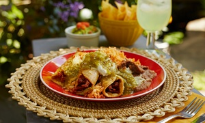 Casa Don Juan: Dinner and Jumbo Margaritas for Two or Lunch for Two at Casa Don Juan (Up to 41% Off)