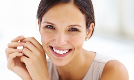 Dental Checkup or In-Office Teeth-Whitening Session or Both at Genuine Care Dental (Up to 92% Off)