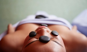 Crystal Body Spa: One or Three Hot-Stone Massages at Crystal Body Spa (Up to 71% Off)