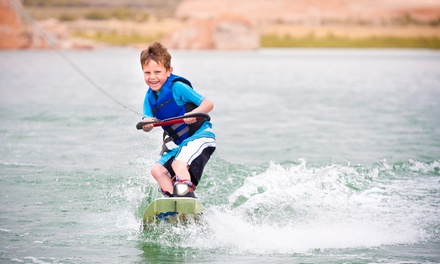 Wakeboarding Session, or One Week of Half-Day, Full-Day, or Overnight Kids' Camp at Wake Zone (Up to 50% Off)