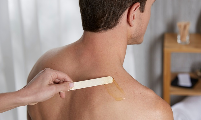 Men S Back Sugaring Session Azucar Sugaring Groupon