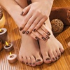 Up to 46% Off Regular or No-Chip Manicure and Spa Pedicure