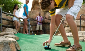 Swingtime: Mini-Golf Package for Two or Four, or Birthday Party for Up to 10 Kids at Swingtime (Up to 58% Off)