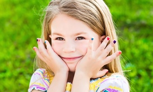 Pickle's Playroom & Salon: Dynamic Duo or Hard as Steel Manicure with a Play Pass at Pickle's Playroom & Salon (Up to 50% Off)