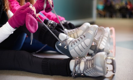 Four-Week Ice-Skating Class with Skate Rentals for One or Two at Palm Beach Ice Works (46% Off)