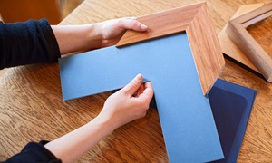 All Like Art and Frames: Custom Framing at All Like Art and Frames (Up to 58% Off). Four Options Available.