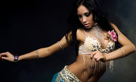 One or Three Months of Belly Dancing, Zumba, or Hand Drumming at Nomadic Tapestry (Up to 75% Off)