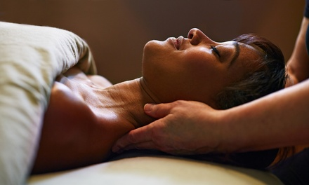 45-Minute Back, Neck, Face and Scalp or Hot Stone Massage at Advanced Beauty by Lauren Williams (37% Off)*