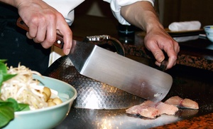 Sushi And Hibachi Food And Drinks At Shogun Palace (up To 47% Off). Two Options Available.