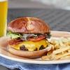 Bagel-Burger-Menü