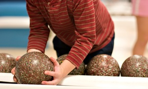 Stoneleigh Lanes: 90 Minutes of Bowling with Pizza and Shoe Rentals for Two or Four at Stoneleigh Lanes (Up to 63% Off)