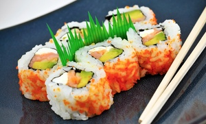 Sushiyaki: $17 for $30 Worth of Dinner for Two or More with One Edamame Appetizer at Sushiyaki ($33.50 Value)