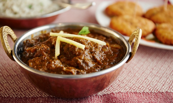 Copper Pot Restaurant - Downtown Edmonds: $20 Towards Indian Cuisine on Monday-Thursday or Friday-Sunday at Copper Pot Restaurant (Up to 50% Off)