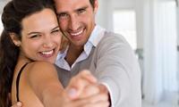 4x od. 12x 60 Min. Tanzen-Anfängerkurs od. Hochzeitstanzkurse in der Tanzschule Move Me! Zentrale (bis zu 75% sparen*)
