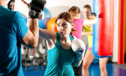 image for $20 for 30 <strong>Kickboxing</strong> and Fitness Classes from FIGHT2FITNESS ($299 Value)