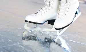 Eissporthalle am Salzgittersee: Eintritt in die Eishalle inkl. Schlittschuh-Verleih für 2 oder 4 Pers. in der Eissporthalle am Salzgittersee