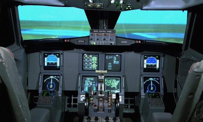 JA Flight Services - Sugar Grove: 30-Minute Flying Lesson in a Full Motion Simulator for One or Two People at JA Flight Services (Up to 52% Off)
