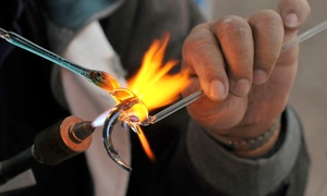 Potek Glass: Try-It! Introductory Glass-Art Class for One or Two at Potek Glass (Up to 53% Off)