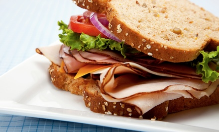 Sandwiches and American Café Cuisine at Park Hill Cafe (50% Off). Two Options Available.
