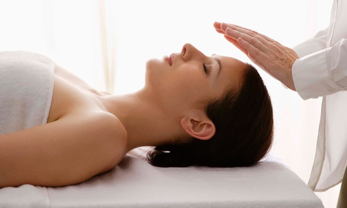 Reikitime - Palms: One or Three Reiki Sessions or One or Four Vibrational Cleansing Packages at Reikitime (Up to 65% Off)