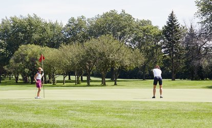 image for Round of <strong>Golf</strong> for Two or Four or 10-Pass Play Card at Blackberry Farm <strong>Golf</strong> Course (Up to 44% Off)