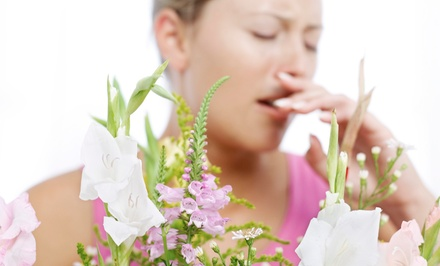 $99 for a Pollen-, Pet-, and Dust-Allergy Test at Clear Allergy Immunology Laser Center ($350 Value)