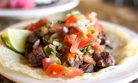 Baja-Style Mexican Food for Two or Four at Fuzzy's Taco Shop (Up to 50%Off)